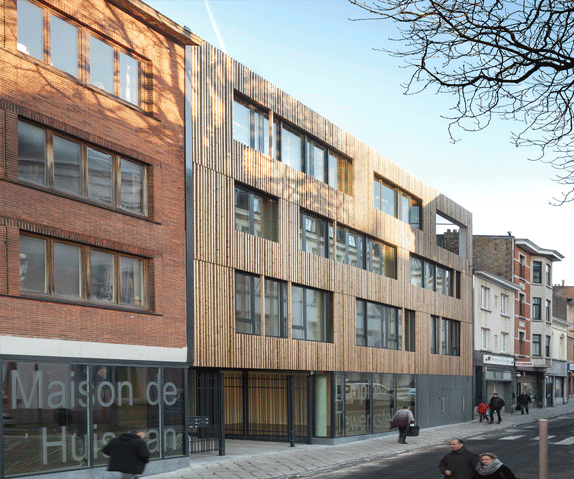 Bâtiment Maison Emploi et Formation Ixelles